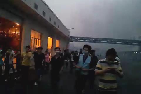 Esplosione alla Foxconn di Chengdu