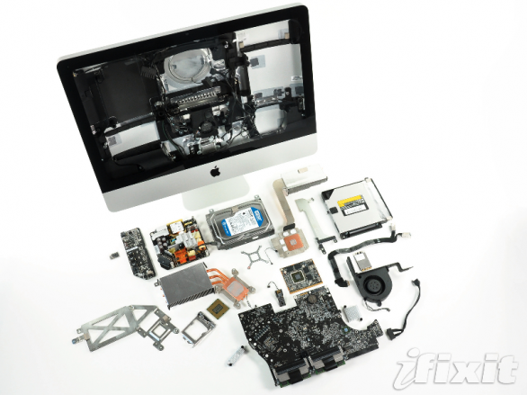 iMac (Early 2011) teardown by iFixit