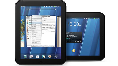 HP TouchPad con WebOS 3.0