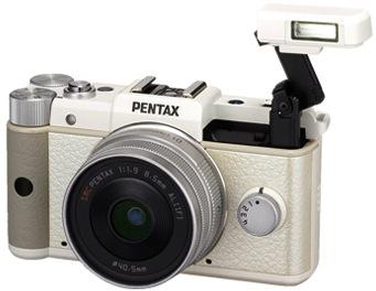 Pentax Q bianca
