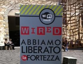 Wired - Totem - Abbiamo liberato la Fortezza - Firenze - Pitti Immagine Uomo