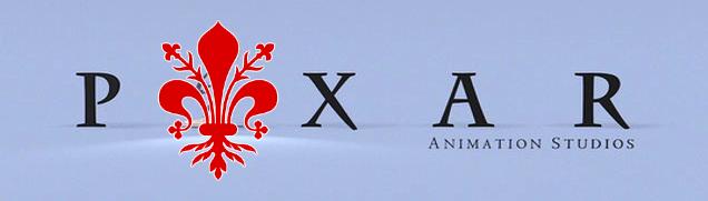 Pixar Animation Studios con giglio di Firenze