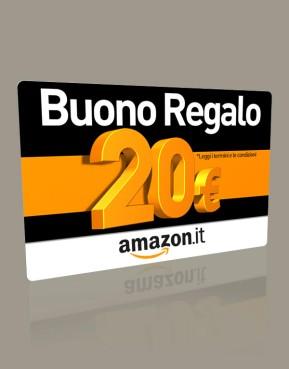 Amazon.it - Buono sconto di 20€ scontato del 50%