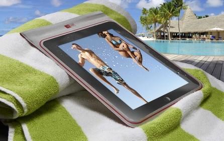 Case Logic - Portare in sicurezza l'iPad in spiaggia, al mare, in barca