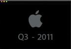 Apple - Risultati fiscali 3° trimestre fiscale del 2011 - streaming audio