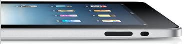 iPad sdraiato
