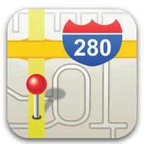 Icona Mappe iOS