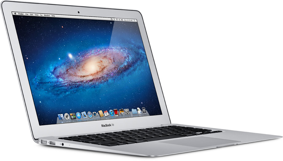 MacBook Air Mid 2011 - Vista tre quarti frontale