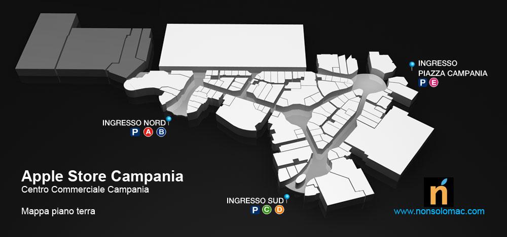 Apple Store Campania - Pianta piano terra