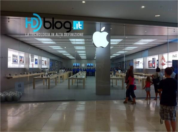 Apple Store Campania - Immagini della vigiali by hdblog.it