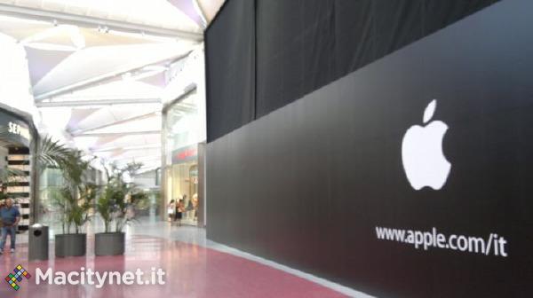 Apple Store Centro Sicilia - Compare la mela morsicata