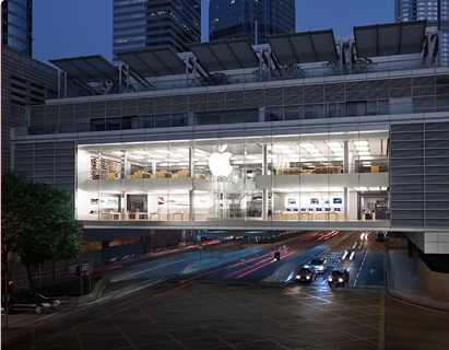 Apple Store IFC Mall - Hong Kong