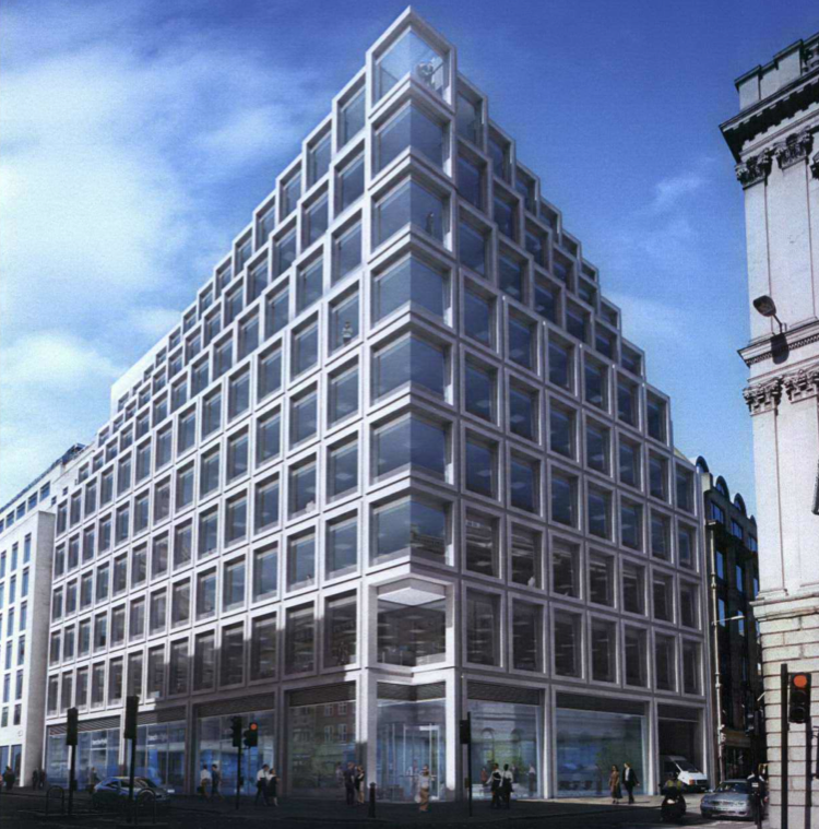 Londra - Apple Store - rendering - 100 Cheapside