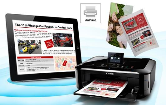 Canon annuncia le stampanti e multifunzione compatibili con Airprint