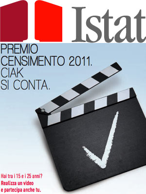 ISTAT - Premio censimento Ciak si conta - In palio iPad 2 e iPhone 5