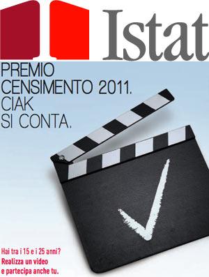 ISTAT - Premio censimento Ciak si conta - In palio iPad 2 e iPhone 5