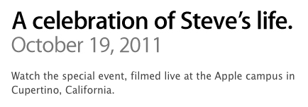 Celebration of Steve's Life - Video e trascrizione delle parole di Tim Cook