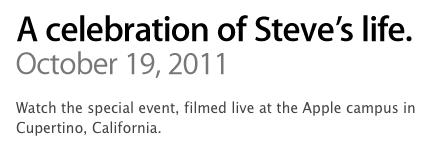 Celebration of Steve's Life - Video e trascrizione delle parole di Tim Cook