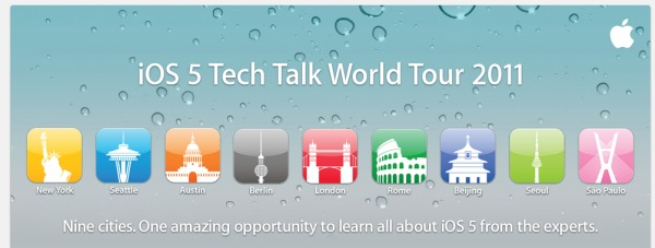 iOS Tech Talk World Tour 2011