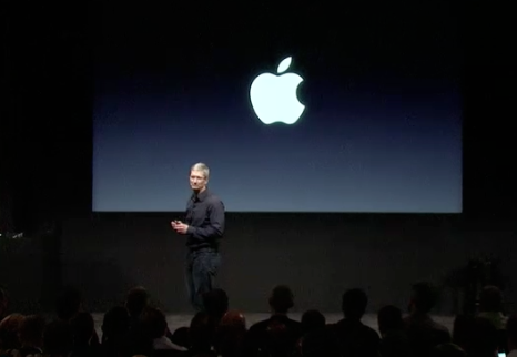 Let's Talk iPhone - Sul palco Tim Cook