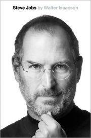 Steve Jobs - Copertina della biografia autorizzata scritta da Walter Isaacson