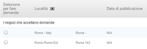 Apple Store - Ricerca personale per Roma - Un secondo store in arrivo
