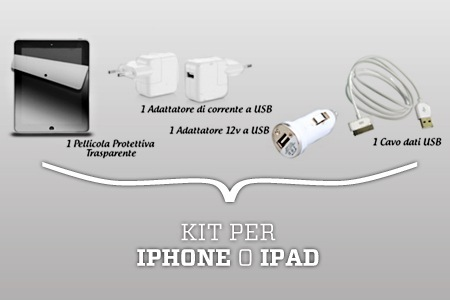 Kit per iPad e iPhone in offerta su Groupon