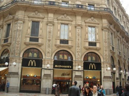 Galleria Vittorio Emanuele - Milano - Fondo Mc Donald's