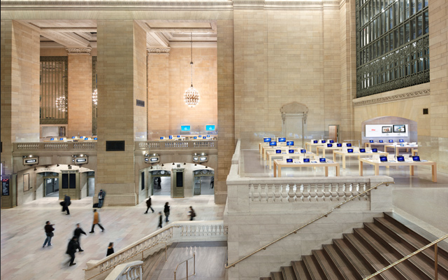 Apple Store Grand Central - New York - Prima dell'inaugurazione