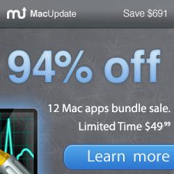 MacUpdate bundle - 12 Applicazioni per Mac scontate del 94%