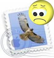 Icona di Mail con faccina triste