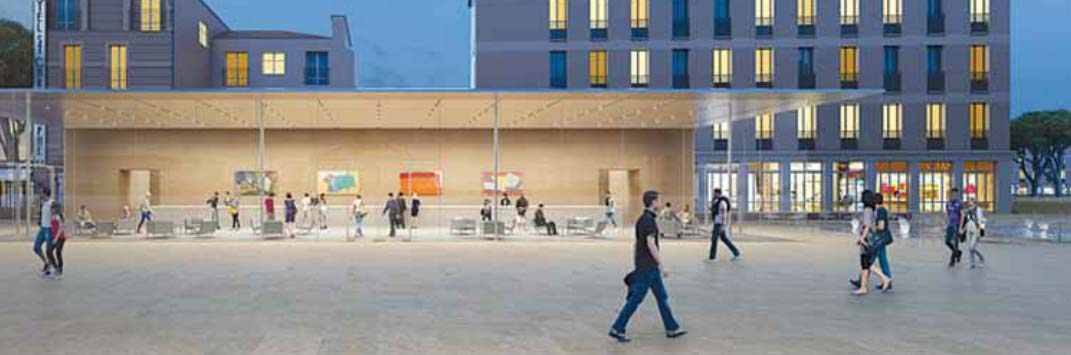 Apple Store - Aix en Provence - Rendering