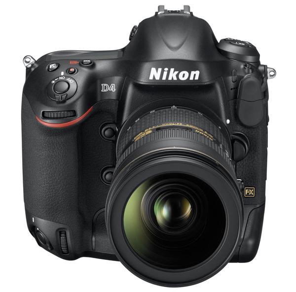 Nikon D4, nuova full-frame professionale di fascia alta