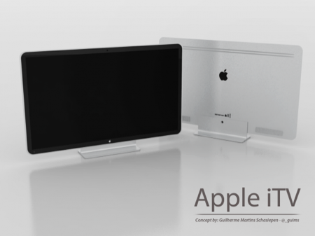 Concept dell'iTV, la televisione a marchio Apple