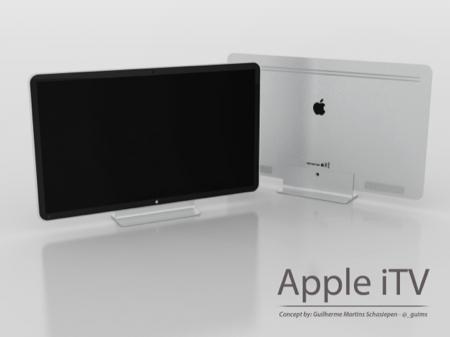 Concept dell'iTV, la televisione a marchio Apple