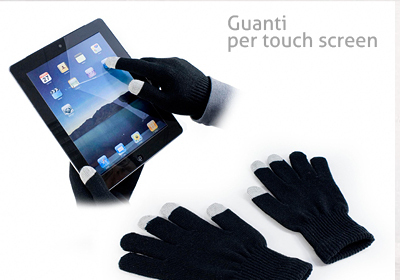Guanti per touch-screen