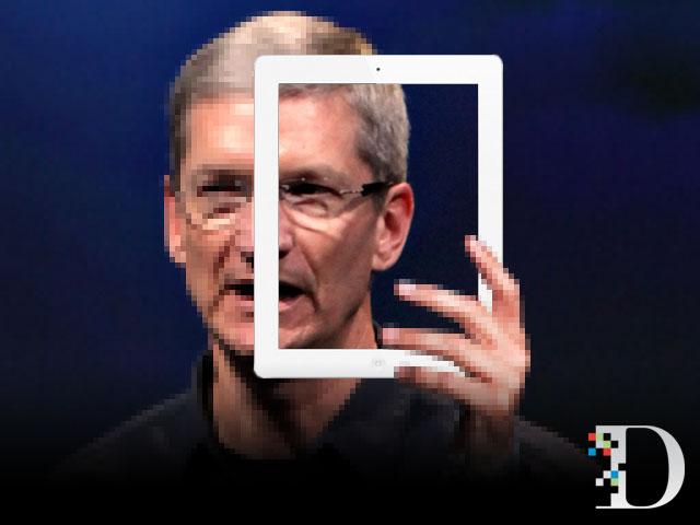 iPad - Tim Cook sotto effetto Retina