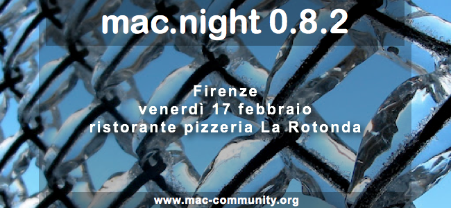 mac.night 0.8.2 - Firenze - mac-community