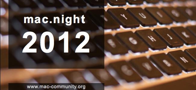 mac.night 2012 - Banner