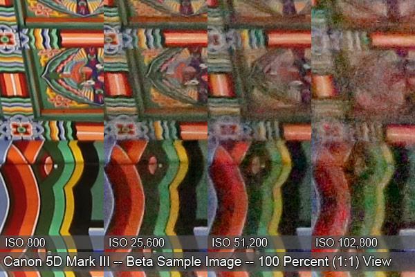 Canon EOS 5D Mark III - Immagini campione ad alti ISO