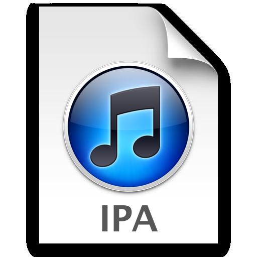 Icona file .ipa relativo alle applicazioni iOS di iTunes