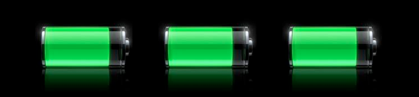 Icone batterie