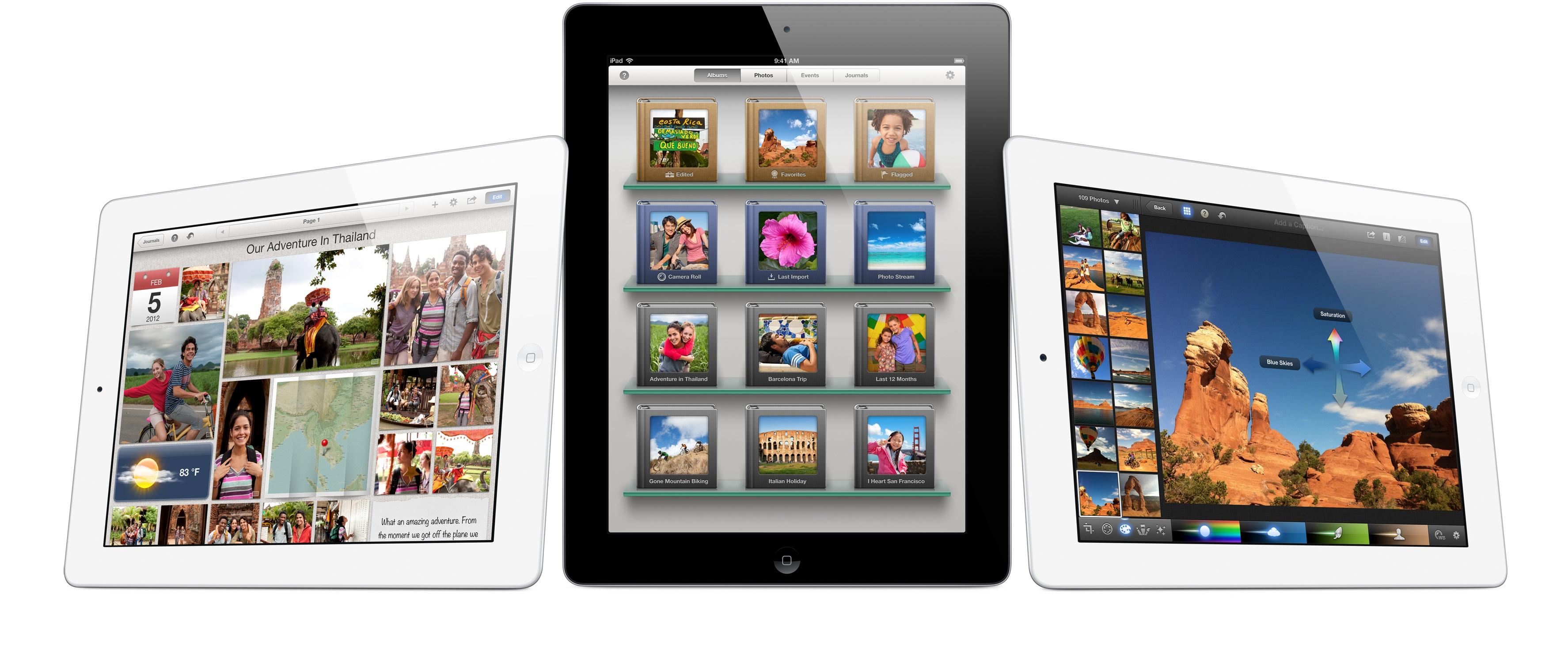 iPhoto su iPad
