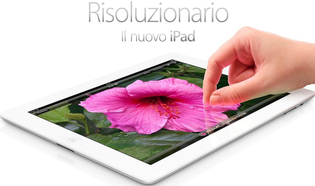 Il nuovo iPad - Risoluzionario !