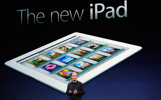 Tim Cook - Keynote - Presentazione nuovo iPad