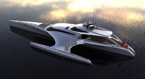 Adastra - Lo Yacht comandabile dall'iPad