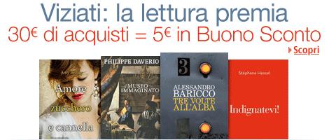 Amazon.it - Promozione, Viziati - La lettura premia !
