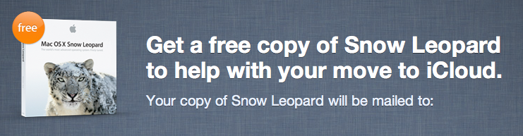 Apple regala Snow Leopard agli utenti Mobile me