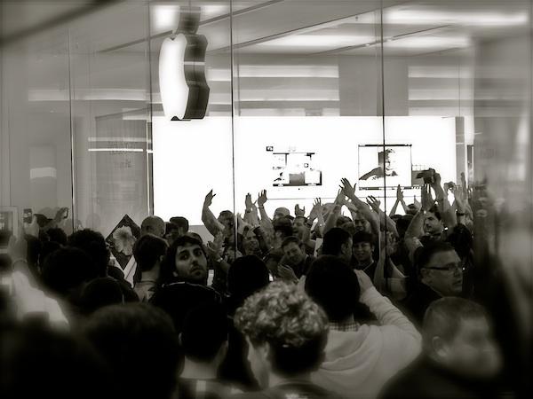 Apple Store Porta di Roma - Inaugurazione