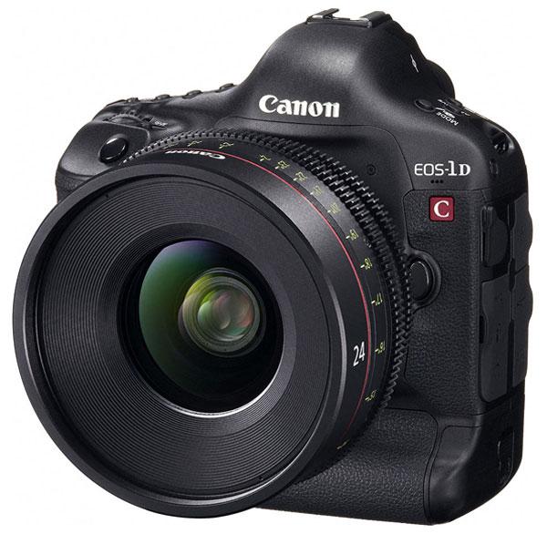 Canon EOS-1D C, reflex full-frame per riprese in formato 4K